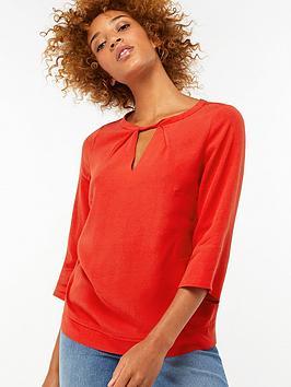 monsoon-penelope-twist-front-blouse