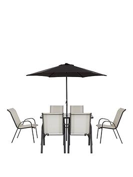 Very Province 8-Piece Dining Set Garden Furniture Picture