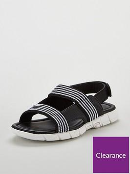 mini-v-by-very-boys-max-elastic-strap-sport-sandals-black