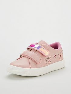 mini-v-by-very-myla-pink-heart-holographic-trainers-pink