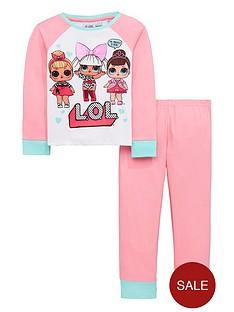 lol-surprise-girls-glow-in-the-dark-pyjama-set-multi-coloured
