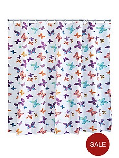 aqualona-butterfly-blossom-shower-curtain