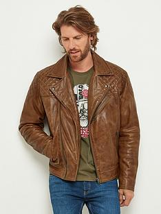 joe-browns-tan-leather-biker