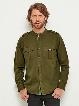 joe-browns-military-grandad-shirt