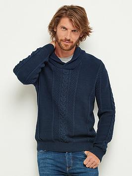 joe-browns-shawl-collar-knit