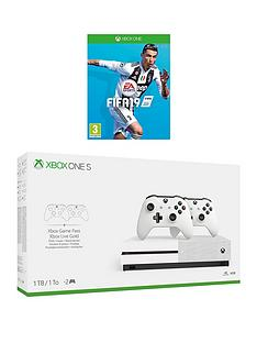 xbox-one-s-xbox-s-1tb-dual-controller-with-fifa-rsquo19-plus-optional-12-months-live