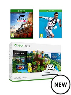 xbox-one-s-xbox-one-s-1tb-minecraft-bundle-with-fifa-19-and-forza-horizon-4
