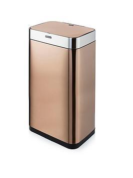 tower-nbsp75-litre-rectangular-sensor-bin-ndash-copper