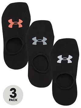 Under Armour Under Armour Essential Low Liner Sock - Black Picture