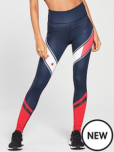 tommy-hilfiger-legging-full-length-with-stars-navynbsp