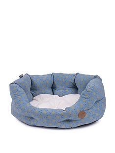 petface-marine-spot-oval-bed