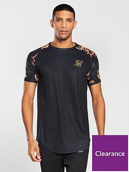 sik-silk-curved-hem-gym-t-shirt-black