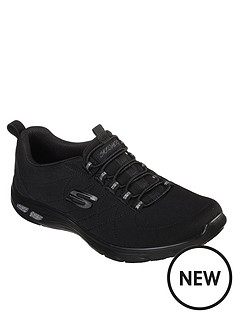 skechers-empire-dluxnbspbungee-lace-trainers-black