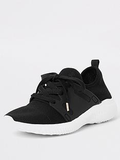river-island-river-island-knit-lace-up-trainer-black