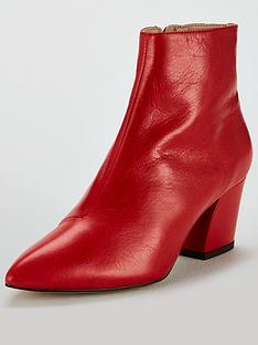 office-aubergine-ankle-boots-red