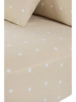 everyday-collection-brushed-cotton-printed-spot-fitted-sheet-natural