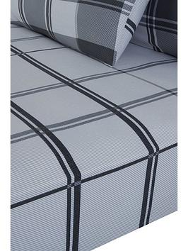 Everyday Collection Everyday Collection Brushed Cotton Check Fitted Sheet  ... Picture