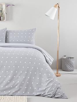Everyday Collection Everyday Collection Brushed Cotton Printed Spot Duvet  ... Picture