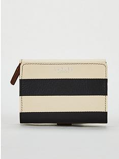 radley-radley-babington-stripe-blackoyster-small-folded-purse