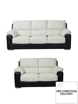 montinbspreal-leatherfauxnbspleather-3-seater-2-seater-sofa-set-buy-and-save