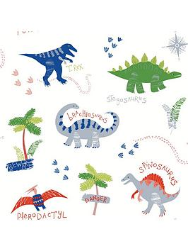 ARTHOUSE Arthouse Dino Doodles Wallpaper Picture