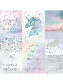 ARTHOUSE Arthouse  Believe In Unicorns Wallpaper Picture