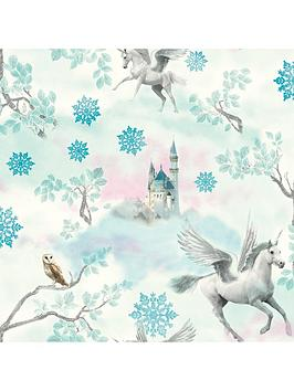 ARTHOUSE Arthouse Fairytale Ice Blue Wallpaper Picture