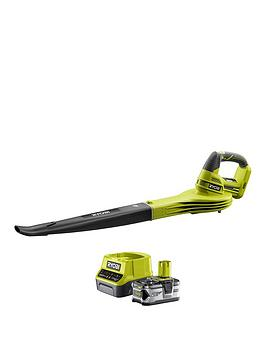 ryobi-garden-leaf-blower-kit-rb18l20s40-40ah-battery-20a-charger