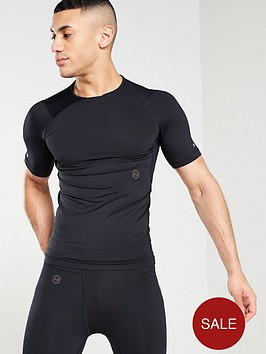 under-armour-rush-compression-t-shirt-black