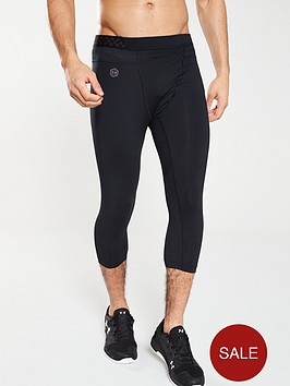 under-armour-rush-compression-34-tights-black