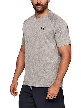 under-armour-tech-t-shirt-brown