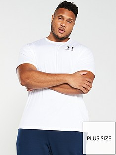 under-armour-plus-sportstyle-left-chest-logo-t-shirt-white