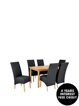 wilson-120-cm-solid-wood-dining-table-6-eternity-chairs