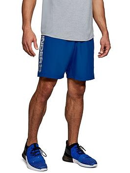 Under Armour Under Armour Woven Graphic Wordmark Shorts - Royal Blue Picture