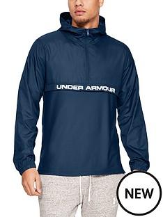 under-armour-sportstyle-woven-12-zip-hoodienbsp--petrol-blue