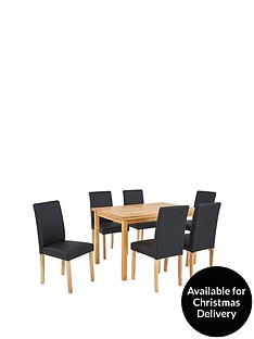 wilson-120-cm-solid-wood-dining-table-6-lucca-chairs