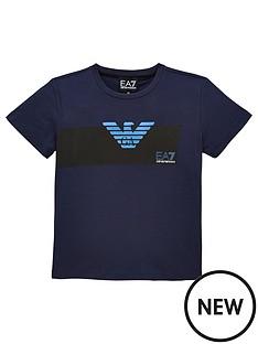 emporio-armani-ea7-boys-short-sleeve-metallic-logo-t-shirt