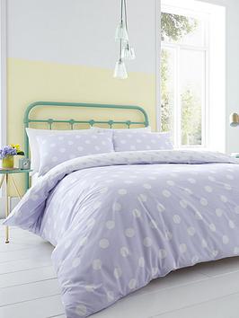 catherine-lansfield-large-polka-dot-duvet-cover-set-lilac