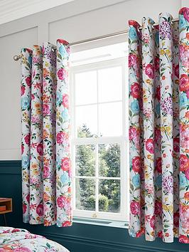 Catherine Lansfield Catherine Lansfield Salisbury Blackout Eyelet Curtains Picture