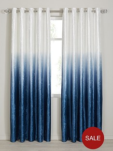 ombre-velvet-heavyweight-lined-eyelet-curtains