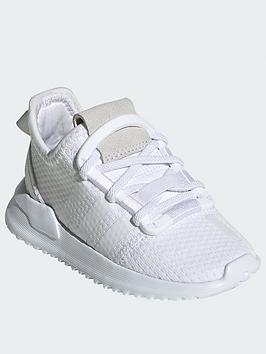 adidas Originals Adidas Originals U_Path Run Infant Trainers - White Picture