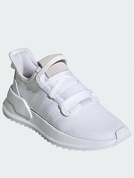 adidas Originals Adidas Originals U_Path Junior Trainers - White Picture
