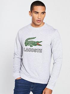 lacoste-sportswear-big-croc-logo-crew-neck-sweat-grey