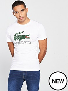 lacoste-sportswear-big-croc-logo-t-shirt-white