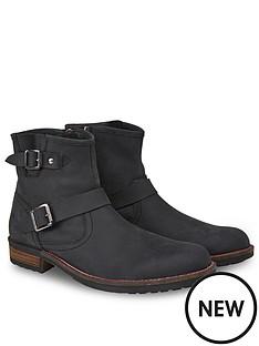 joe-browns-waxed-buckle-biker-boots