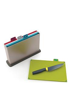 joseph-joseph-index-chopping-board-silver-and-elevate-6-inch-chefs-knife