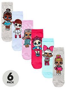 lol-surprise-lol-surprise-6pk-ankle-socks