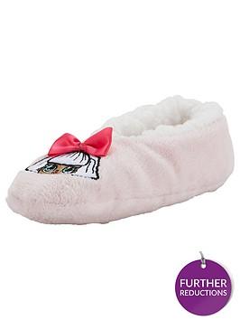 lol-surprise-sherpa-fleece-lined-slipper-socks-pink