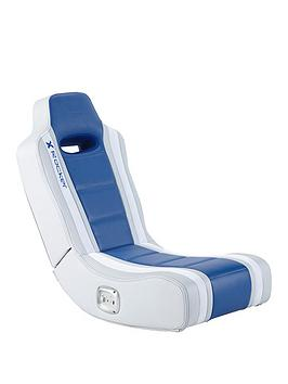 X Rocker X Rocker Hydra 2.0 Floor Rocker Gaming Chair - Blue Picture
