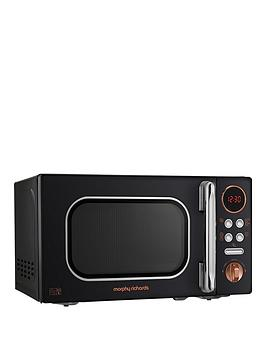 Morphy Richards   800W 20-Litre Microwave - Black Gold
